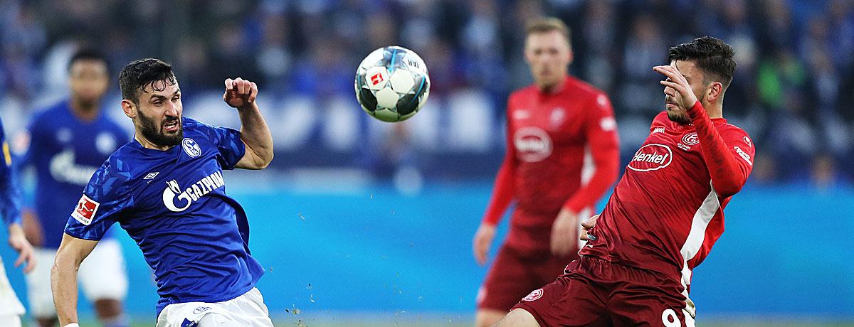 Fortuna Düsseldorf - Schalke 04 Bundesliga 2019/20