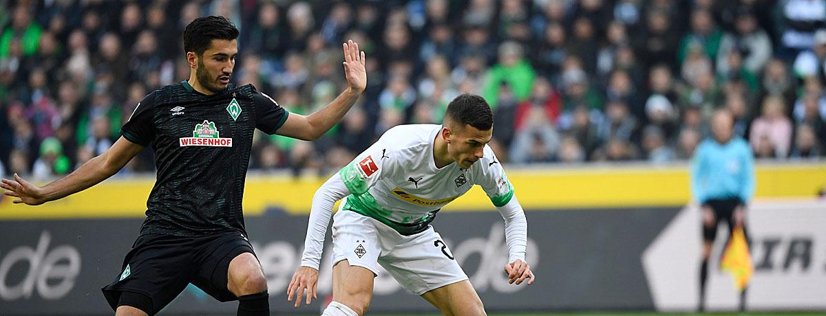 Werder Bremen - Borussia Mönchengladbach: Nichts zu holen für den SVW?