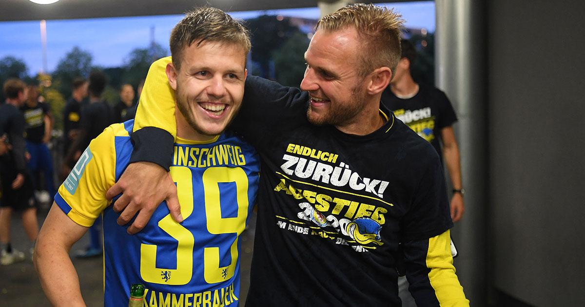 Eintracht Braunschweig steht als erster Aufsteiger fest