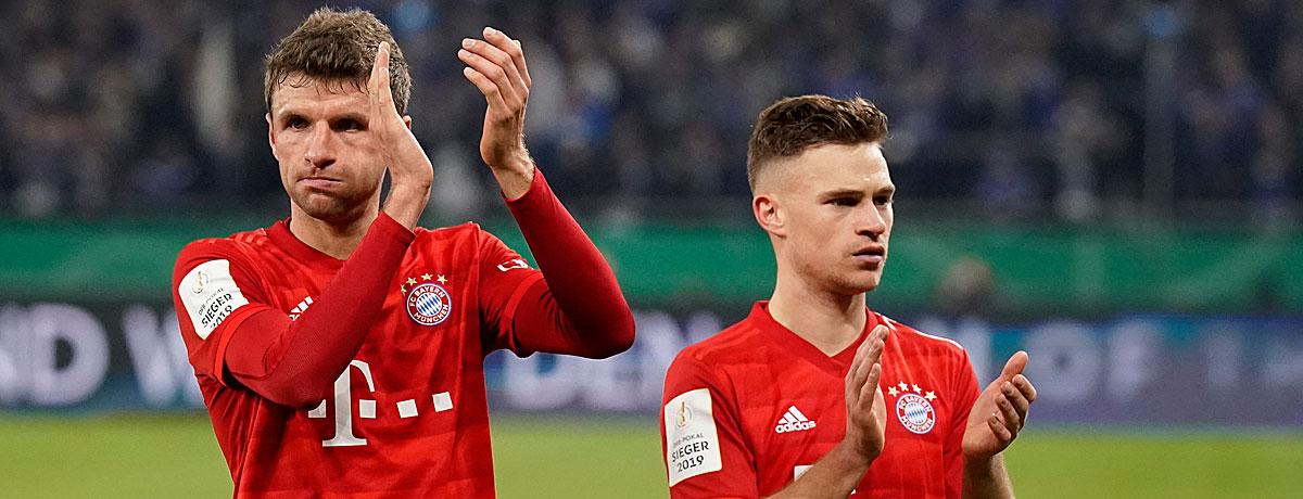 DFB-Pokalfinale Bayer Leverkusen - FC Bayern