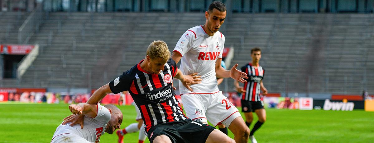 1. FC Köln - Eintracht Frankfurt: Gelingt endlich der Gisdol-Jubiläumssieg?