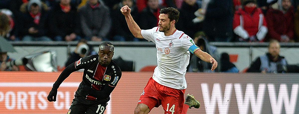 Bayer Leverkusen - 1. FC Köln: Englische Woche ein Vorteil für die Gäste?