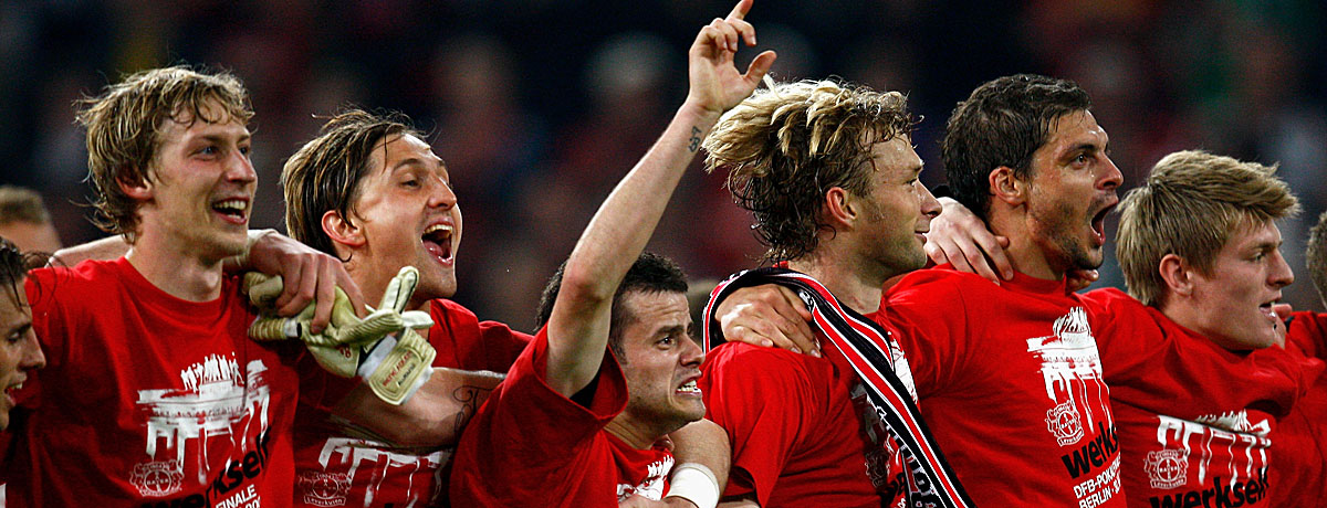 Bayer Leverkusen DFB-Pokalfinale