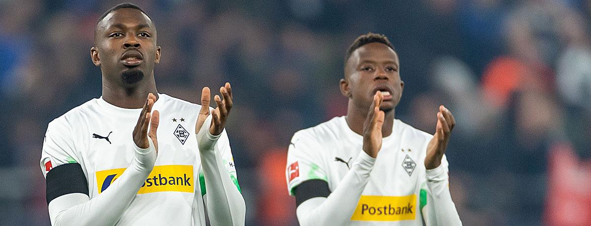Marcus Thuram Dennis Zakaria Borussia Mönchengladbach
