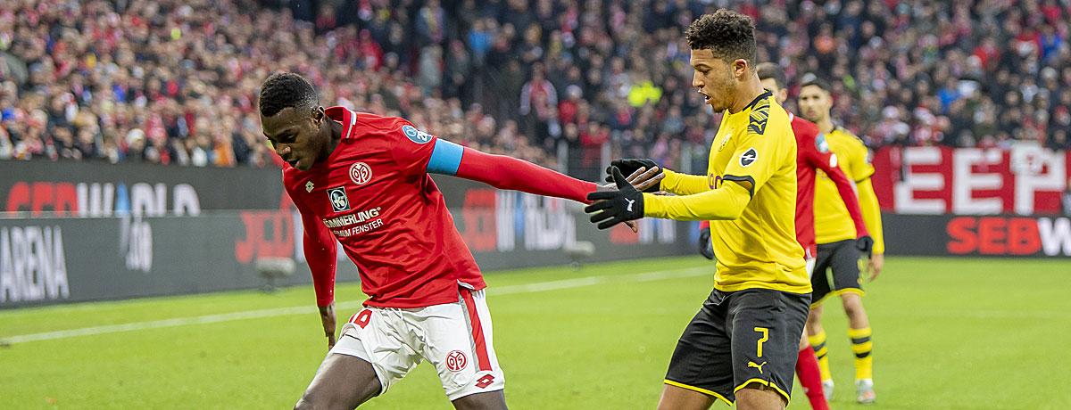 BVB - FSV Mainz 05: Schwarz-Gelb peilt Torrekord an