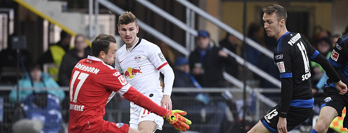 RB Leipzig - SC Paderborn: Die Roten Bullen peilen den ersehnten Heimsieg an