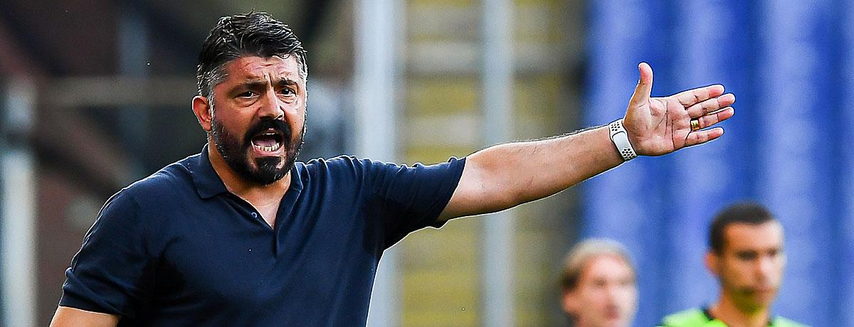Gennaro Gattuso Trainer Neapel