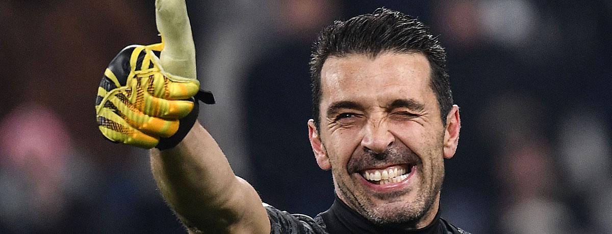 Gianluig Buffon Bestwerte