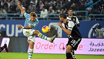 Juventus – Lazio: Gibt es nochmal Spannung im Titelkampf?