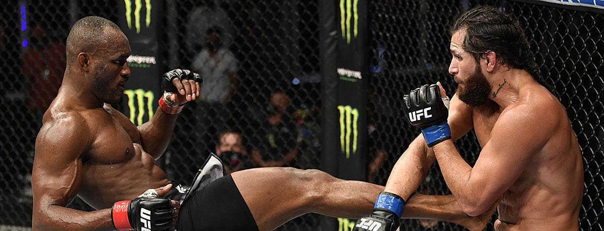 UFC Siegesserie Kamaru Usman