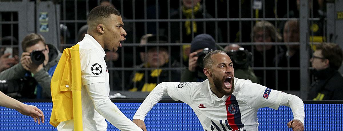 Kylian Mbappé Neymar Champions League