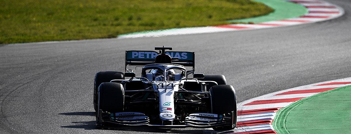 Formel 1 Rennkalender 2020
