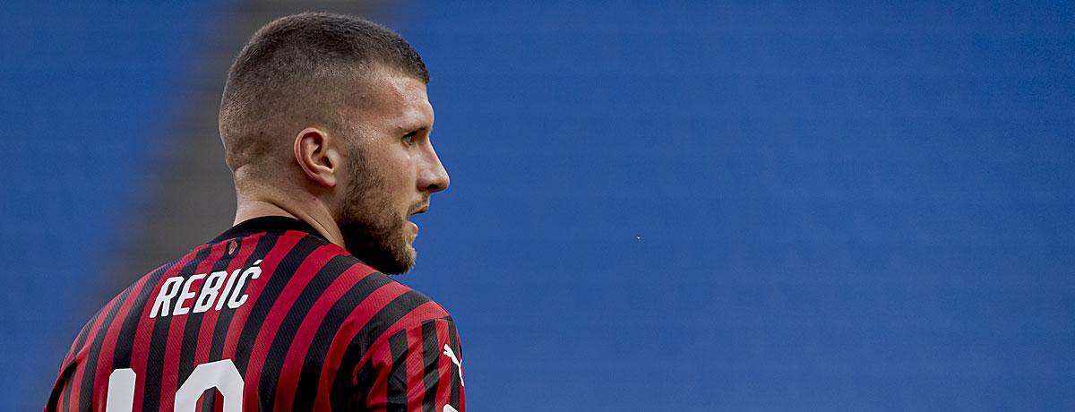 Ante Rebic AC Mailand