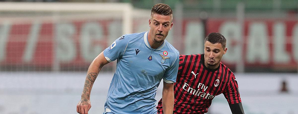Lazio Rom - AC Mailand Serie A 2019/20
