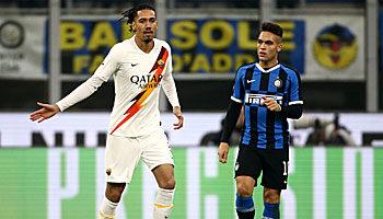 AS Rom - Inter Mailand: Wird der Remis-Fluch gebrochen?