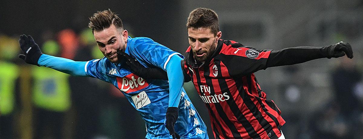 Neapel - AC Mailand Tipp, Prognose & Quoten
