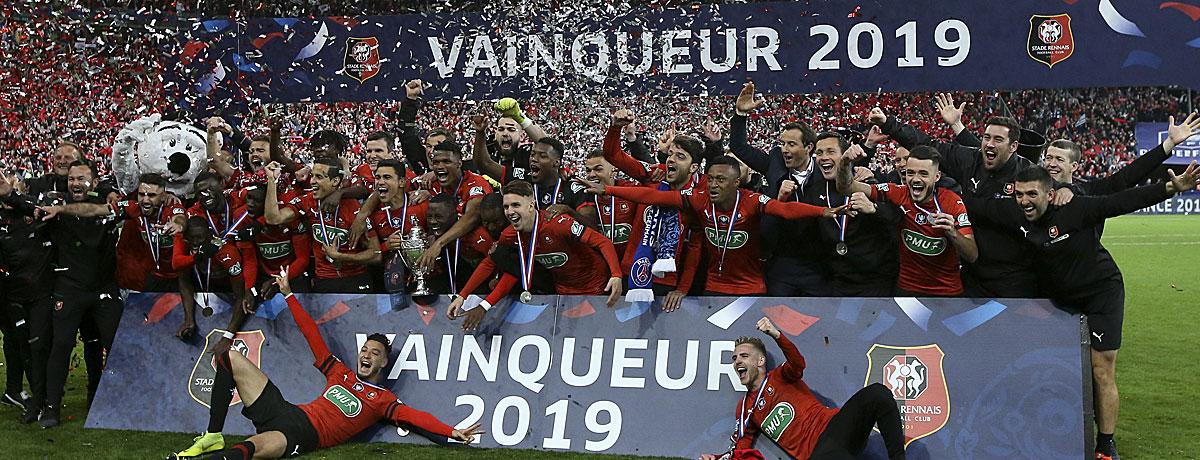 Stade Rennes Coupe de France 2019