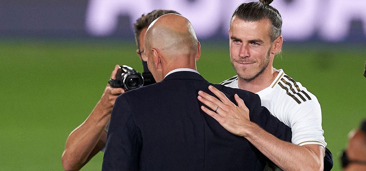 Pflegen ein distanziertes Verhältnis - Trainer Zidane und Bale