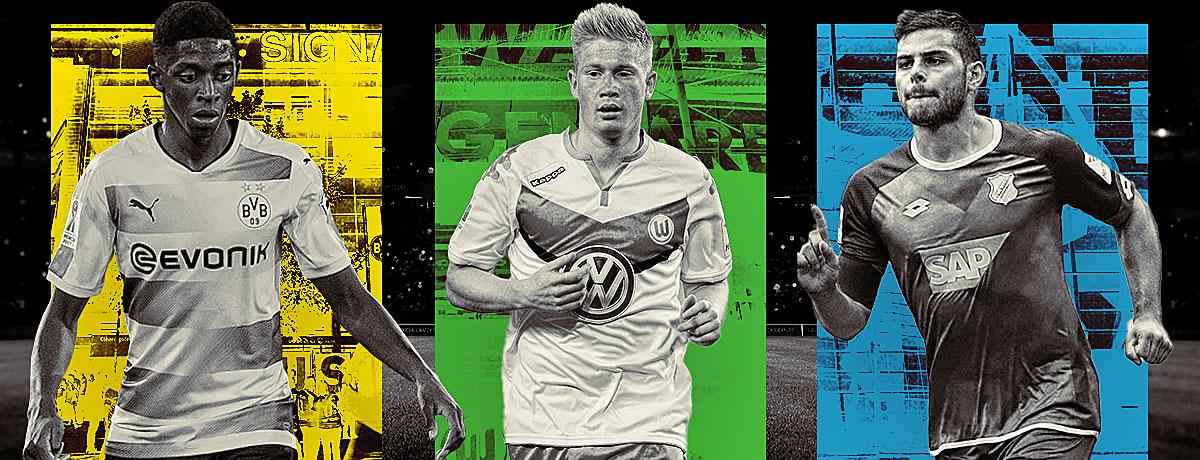 Die besten Transfer Deals Bundesliga