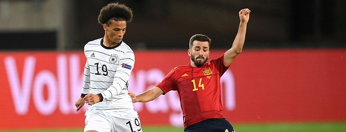 Spanien - Deutschland Nations League
