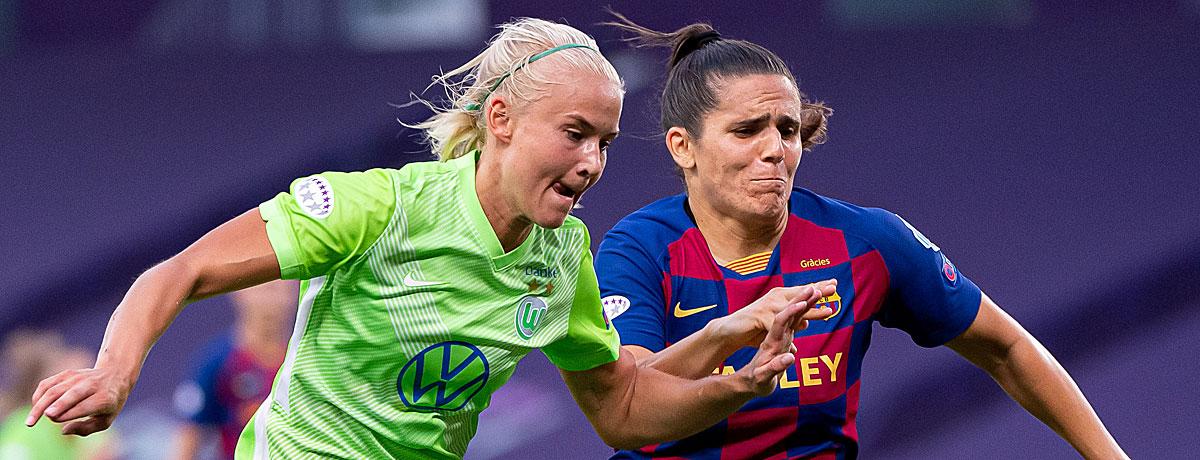 Pernille Harder Champions League Finale