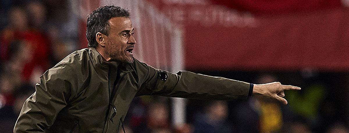 Luis Enrqiue Spanien Trainer
