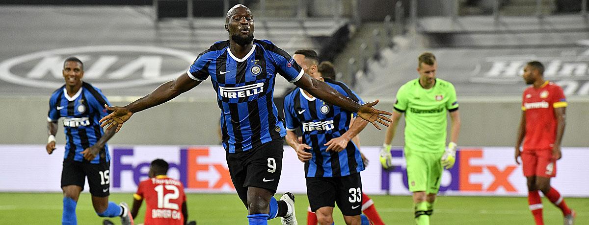Romelu Lukako Inter Europa League