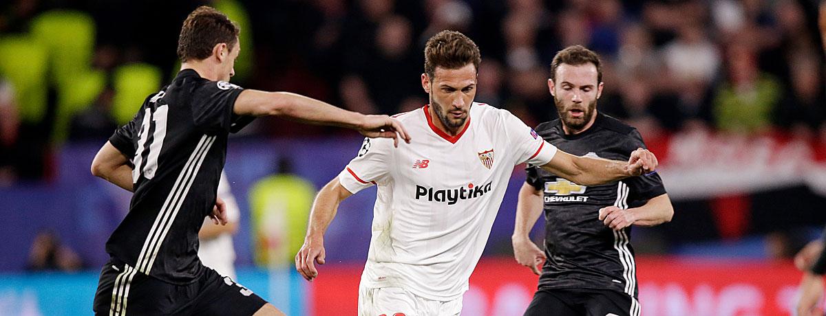 FC Sevilla - Manchester United: Red Devils wollen Revanche