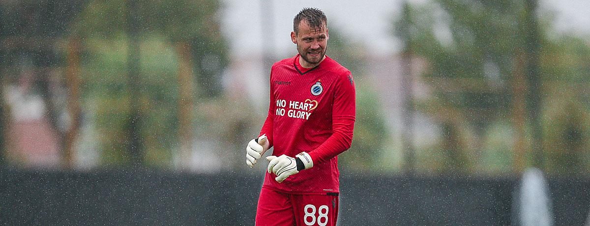 Simon Mignolet FC Brügge