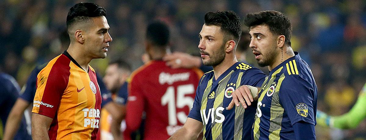 Galatasaray - Fenerbahce Süper Lig