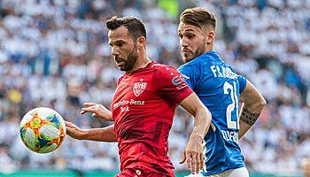 Hansa Rostock - VfB Stuttgart: Wiedersehen macht Freude