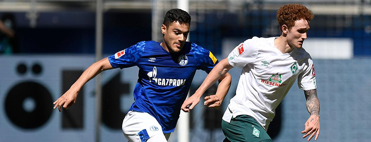 FC Schalke - Werder Bremen: Start-Versager unter sich
