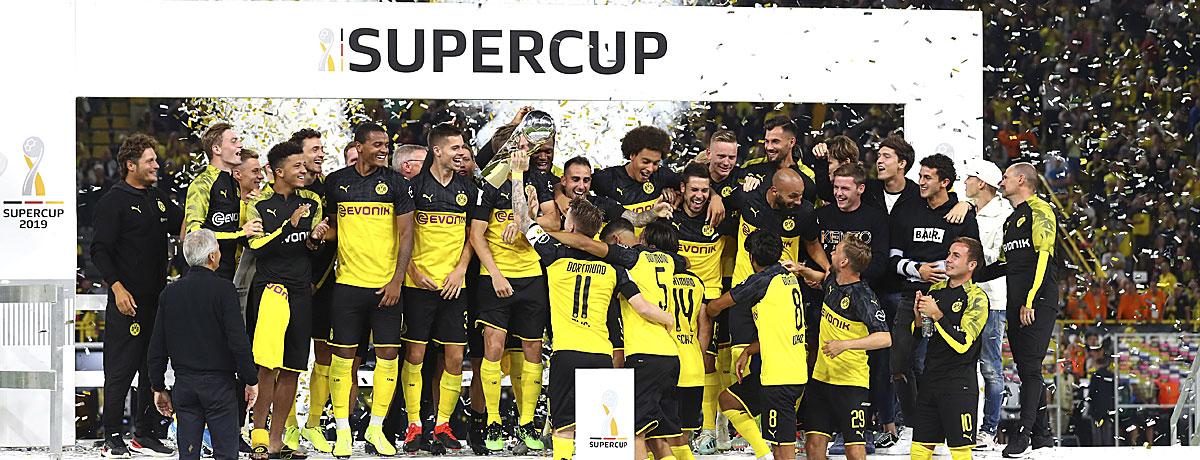 FC Bayern - BVB: Rekordsieger gegen Titelverteidiger im Supercup