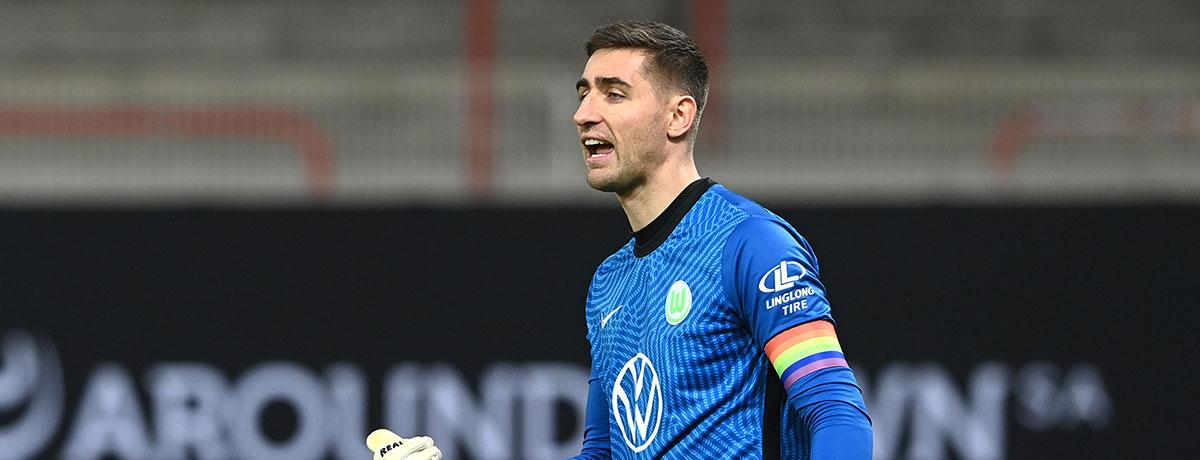 VfL Wolfsburg - Hertha BSC: Casteels jagt Hildebrand-Rekord
