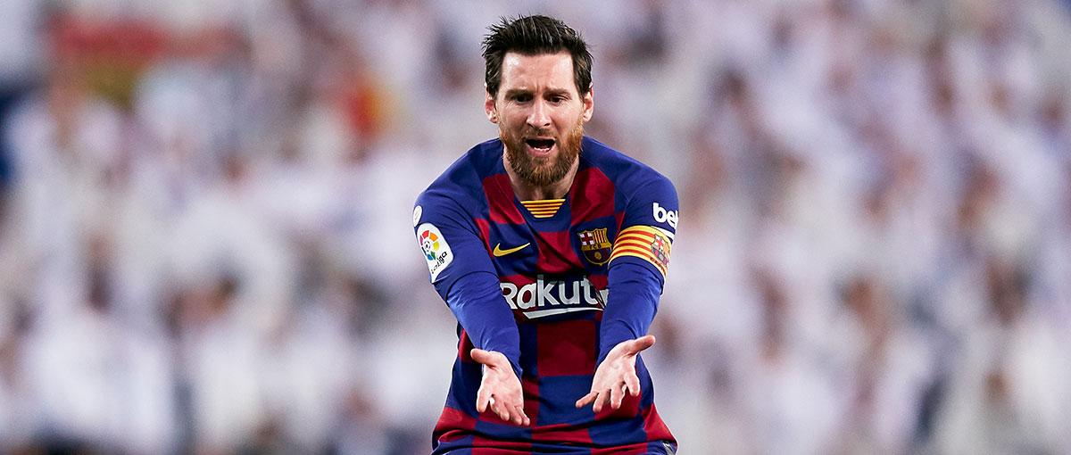 Verzweifelte zuletzt in den Duellen mit Real - Clasico-Rekordtorschütze Messi