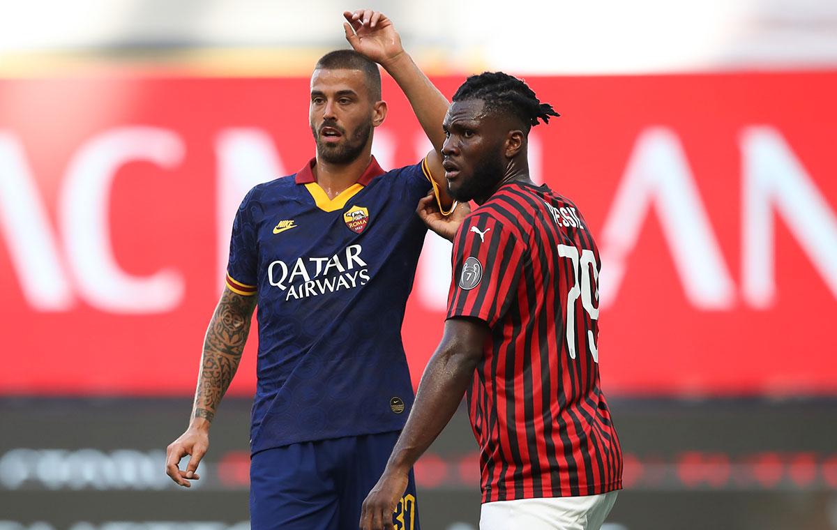 3 der letzten 4 Duelle zwischen Milan und der Roma entschied das jeweilige Heimteam für sich