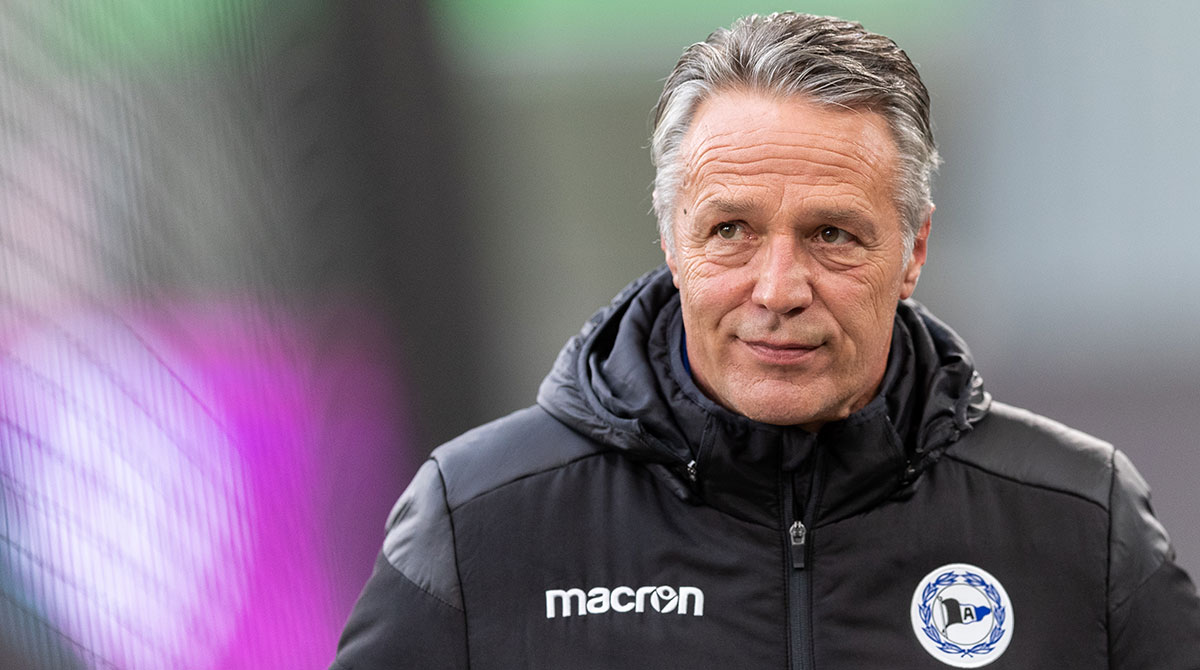 Uwe Neuhaus Trainer Bielefeld