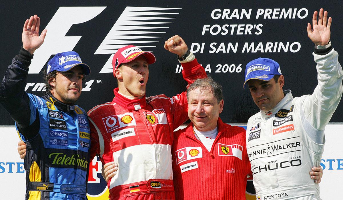 Michael Schumacher Imola