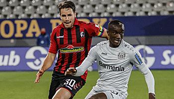Bayer Leverkusen – SC Freiburg: Anfällige Werkself schaut in den Rückspiegel