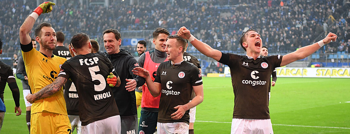 HSV - FC St. Pauli Hamburg-Derby