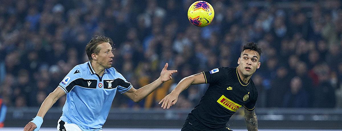 Lazio - Inter: Die Hauptstädter stehen unter Druck
