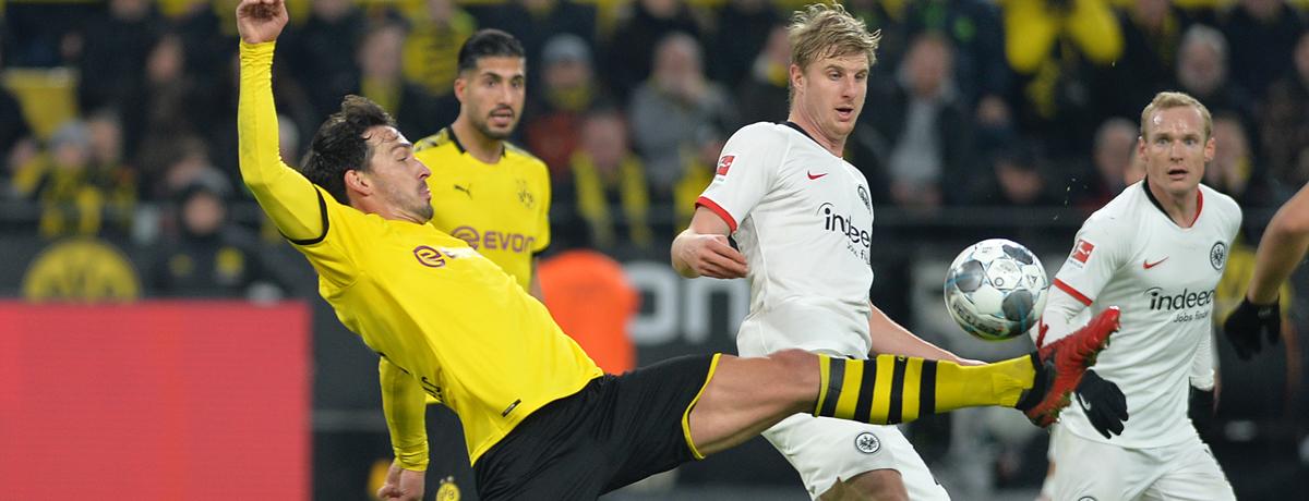 Eintracht Frankfurt - BVB: Schwarz-Gelb sucht die Konstanz