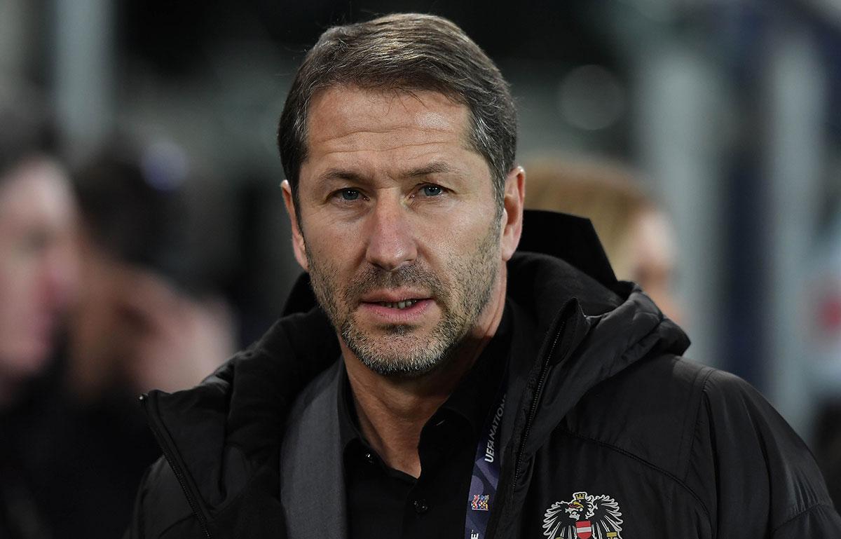 Österreichs Nationaltrainer Franco Foda.