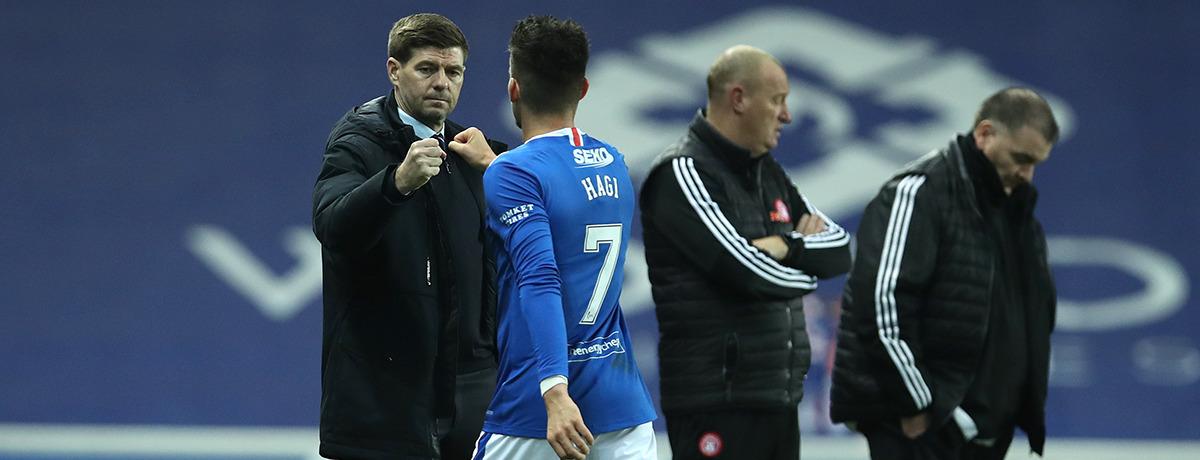 Steven Gerrard Rangers FC
