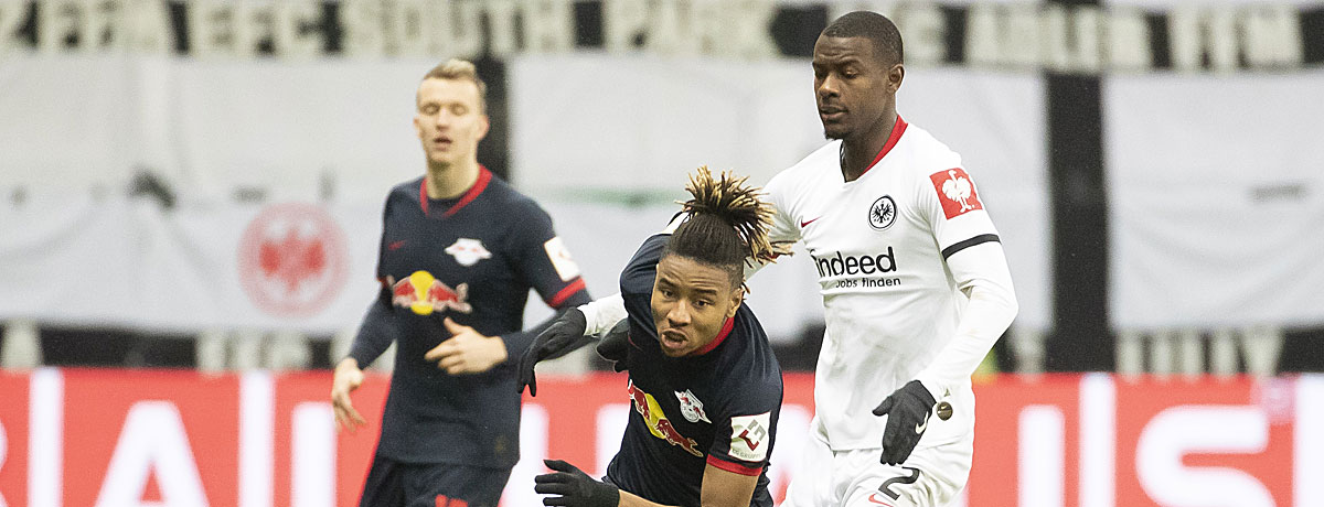 Eintracht Frankfurt - RB Leipzig Bundesliga 2020/21