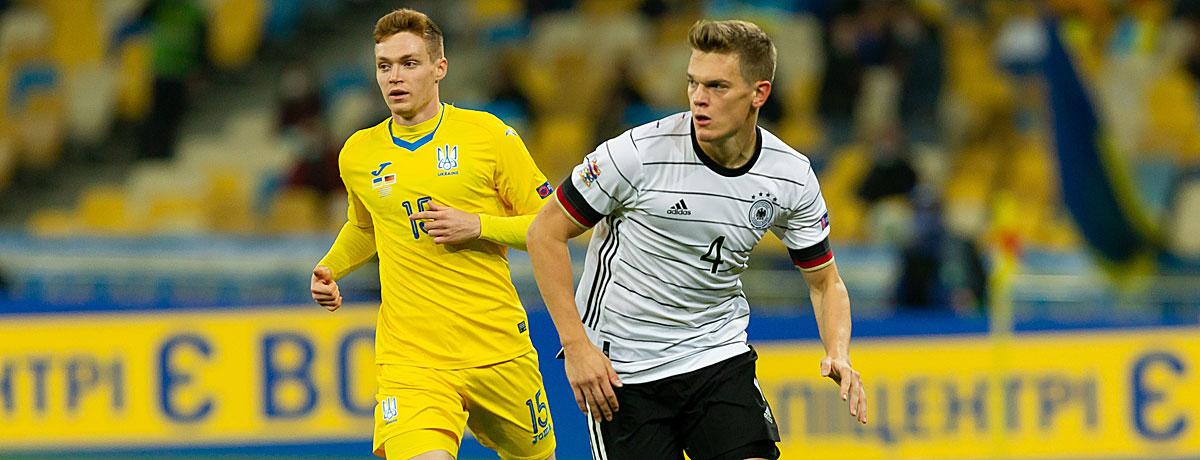 Deutschland - Ukraine Nations League
