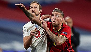Belgien – England: Letzte Chance für die Three Lions