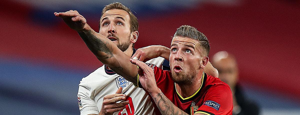 Belgien - England Nations League