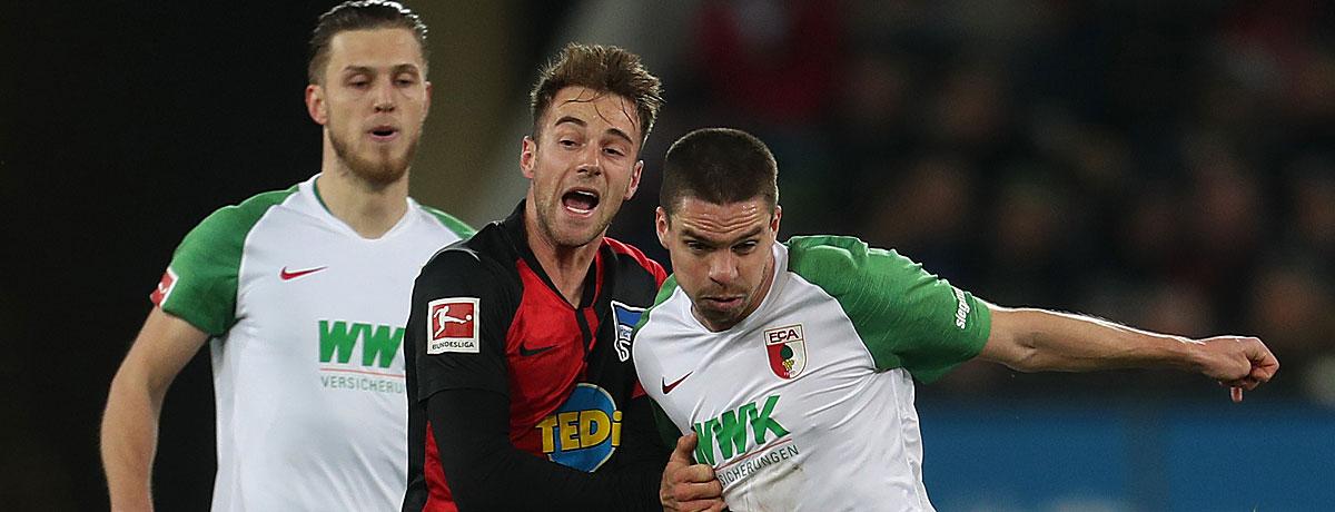 FC Augsburg - Hertha BSC Bundesliga 2020/21