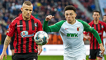 FC Augsburg – SC Freiburg: Beim Lieblingsgegner aus der Krise?